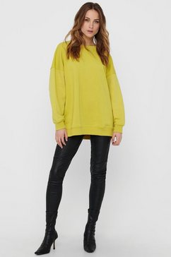 only sweater onyfave in oversized model geel