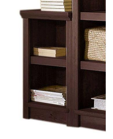 Kasten  vitrinekasten Massief houten kast 'serie Soeren' hoogte ca 67 cm 622713