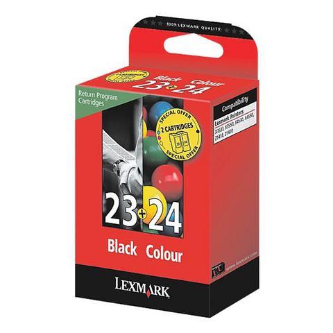 Lexmark Inktpatronen set »18C1523 & 18C1524« Nr. 23 ...