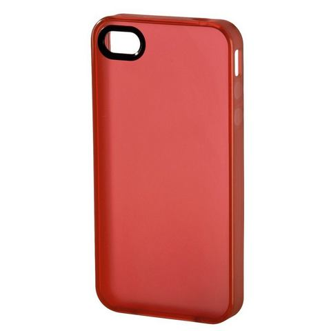Hama IPHONE 4 COVER TPU ROOD