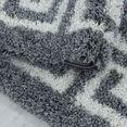 ayyildiz teppiche hoogpolig vloerkleed hera 3301 woonkamer grijs