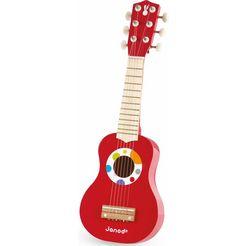 janod gitaar konfetti, meine erste gitarre multicolor