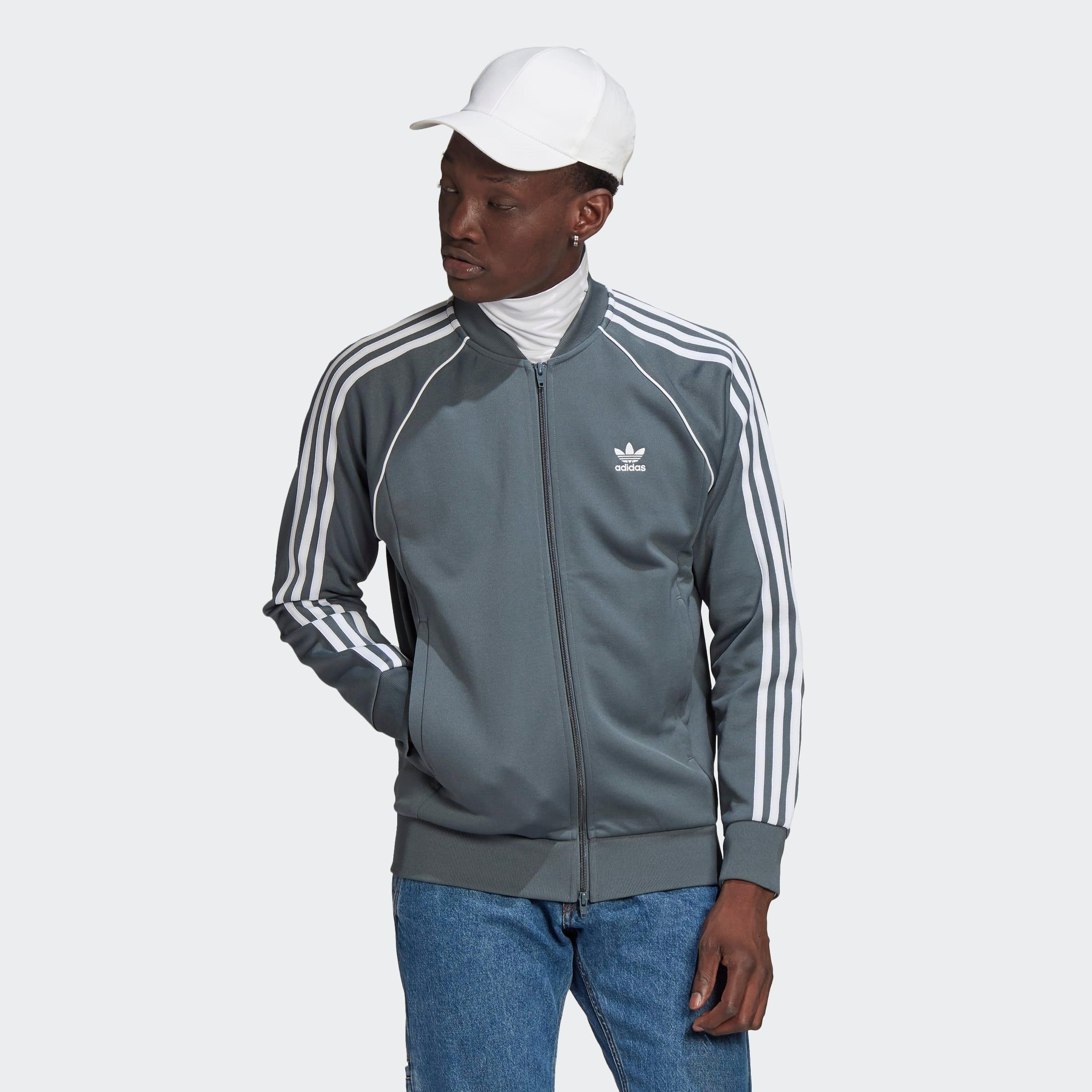 adidas Originals trainingsjack »SST TREACKTOP P BLUE« bestellen: 30 dagen bedenktijd