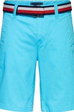 tommy hilfiger bermuda (set, 2-delig) blauw