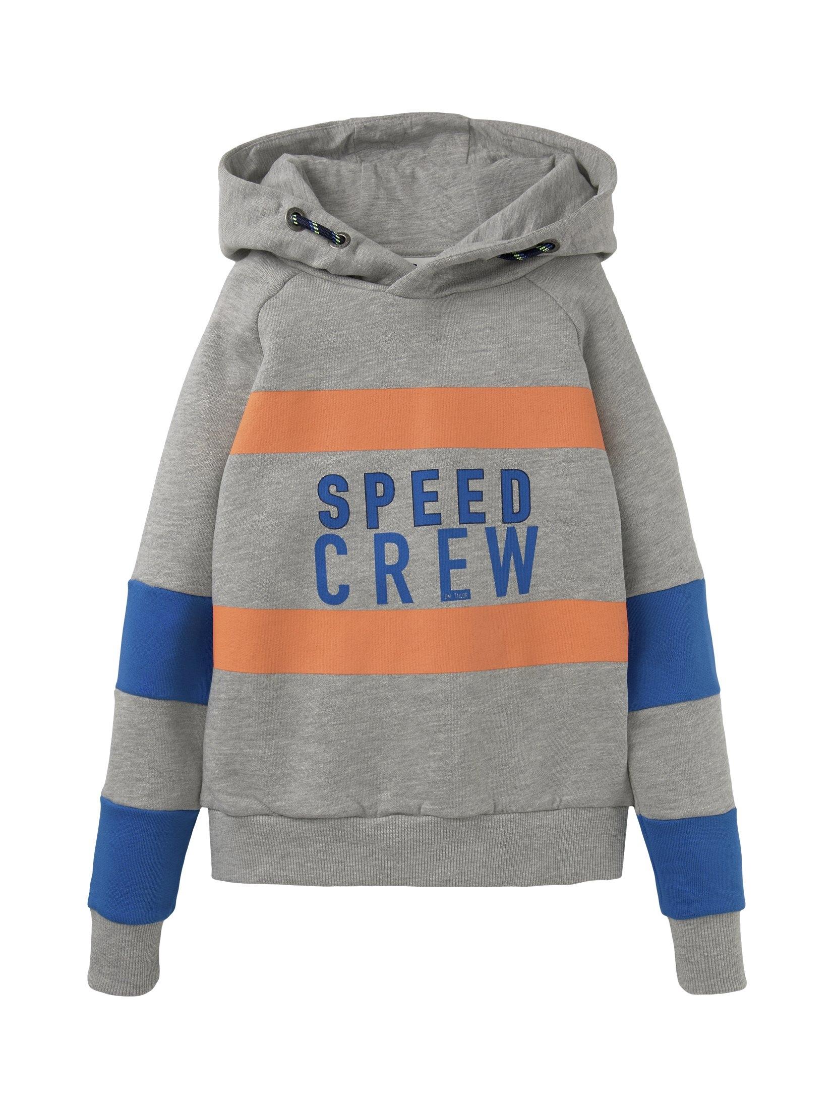 Op zoek naar een Tom Tailor sweatshirt »Colorblocking Hoodie mit Print«? Koop online bij OTTO