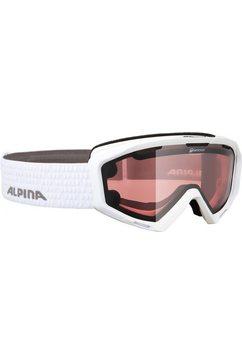 alpina skibril panoma s magnetic + 2 extra glazen wit
