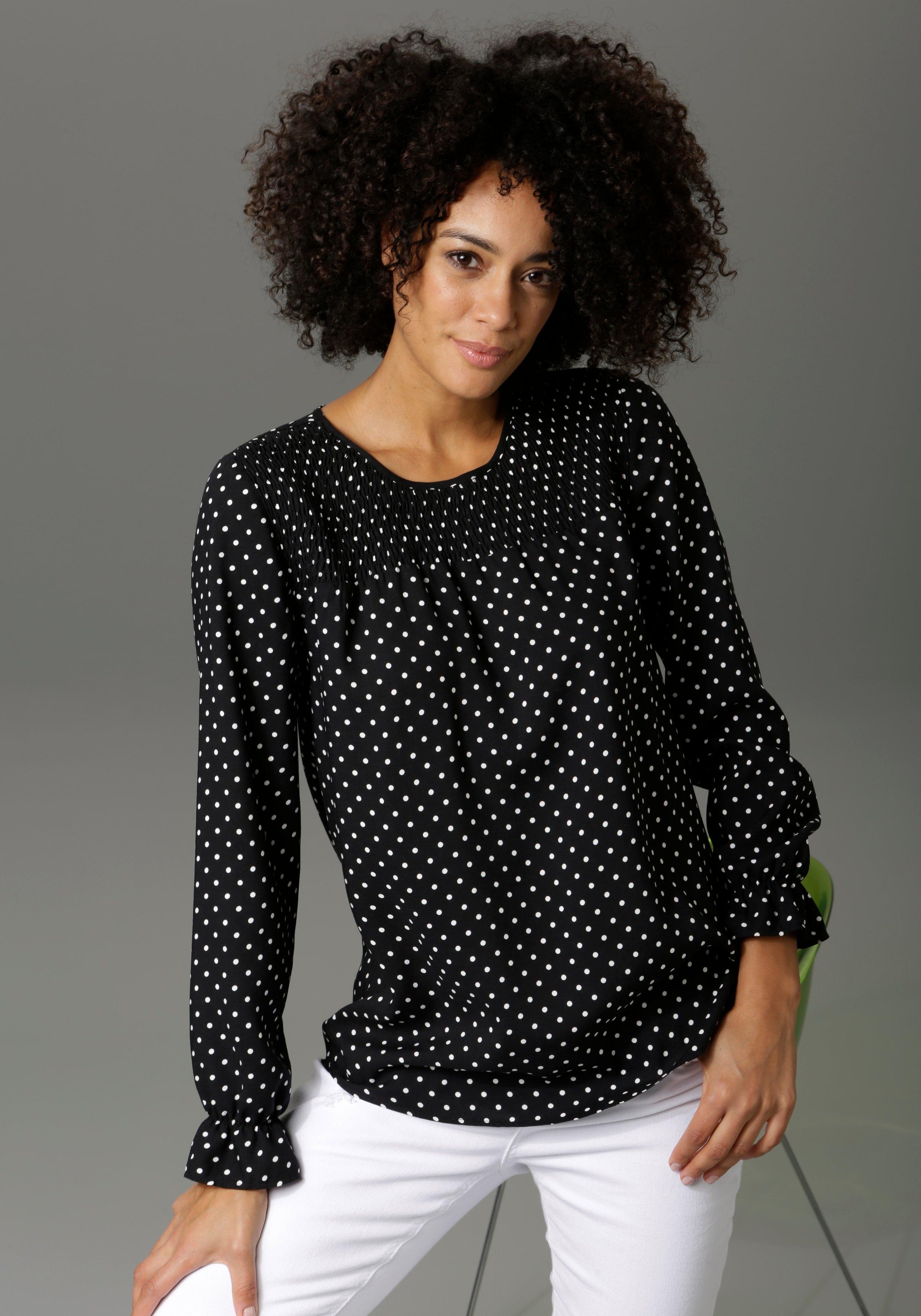 Aniston CASUAL blouse zonder sluiting voordelig en veilig online kopen