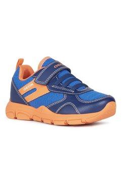 geox kids sneakers new torque boy met een uitneembare binnenzool blauw