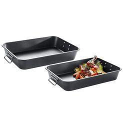 elo - meine kueche ovenschaal (2 stuks) zwart
