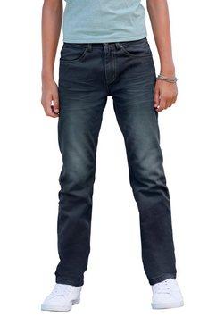 arizona stretch jeans regular fit met rechte pijpen blauw