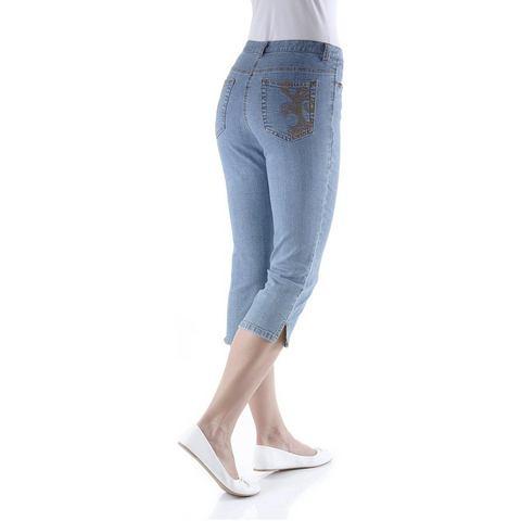 CHEER Skinny-jeans in 3/4-lengte