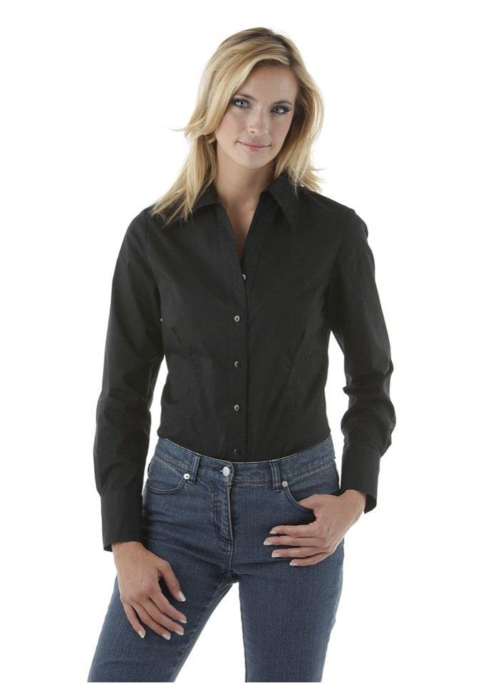 Aniston SELECTED blousebody met diepe hals nu online kopen bij OTTO
