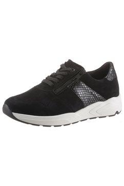 solidus sneakers »kea« zwart