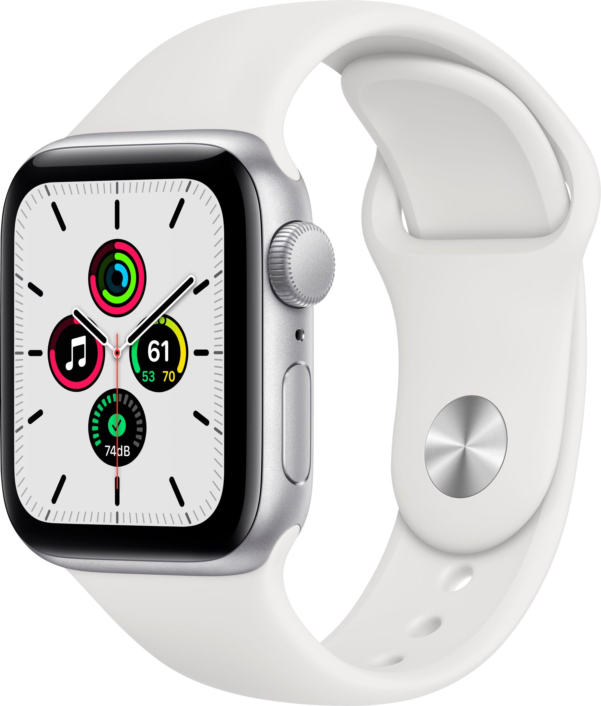 Apple Watch SE gps, aluminium kast met sportbandje 40 mm inclusief oplaadstation (magnetische oplaadkabel) nu online kopen bij OTTO