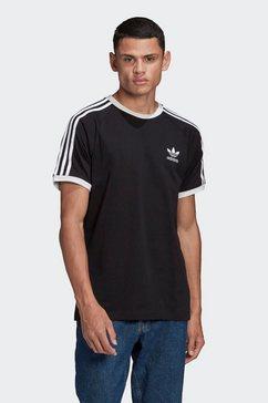 adidas originals t-shirt »adicolor classics 3-streifen« zwart