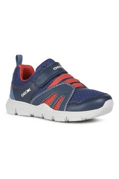 geox kids sneakers new torque boy met zacht verdikte rand blauw