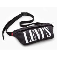 levi's buiktasje »banana sling bag« zwart