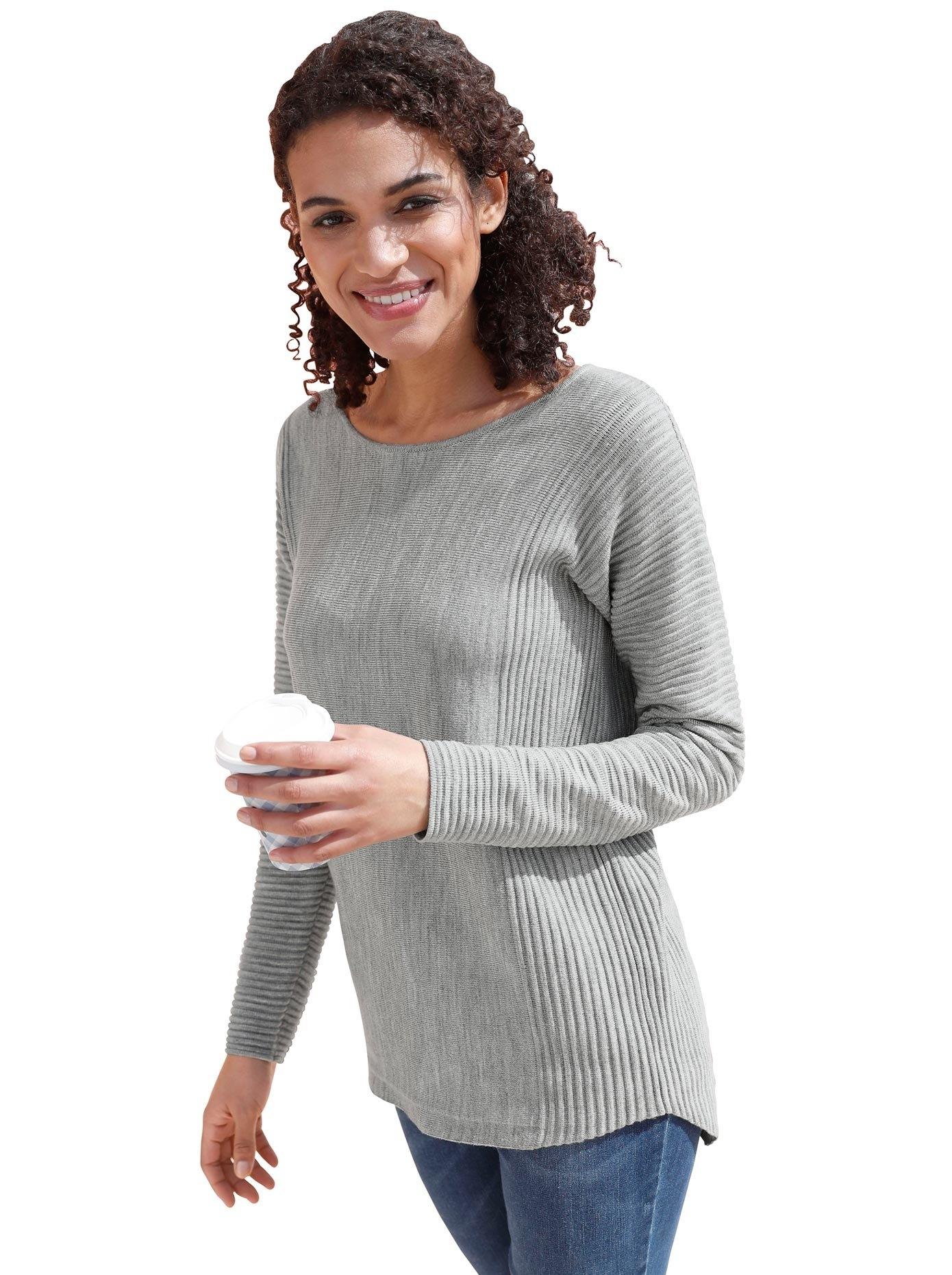 Casual Looks trui met ronde hals Trui - verschillende betaalmethodes