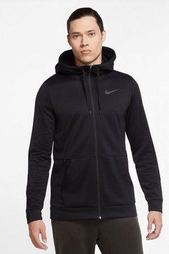 nike trainingsjack »nike therma men's full-zip training hoodie« zwart