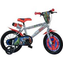 dino kinderfiets voor jongen, 16 inch, 1 versnelling, »avengers«