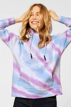 cecil hoodie met een capuchon multicolor