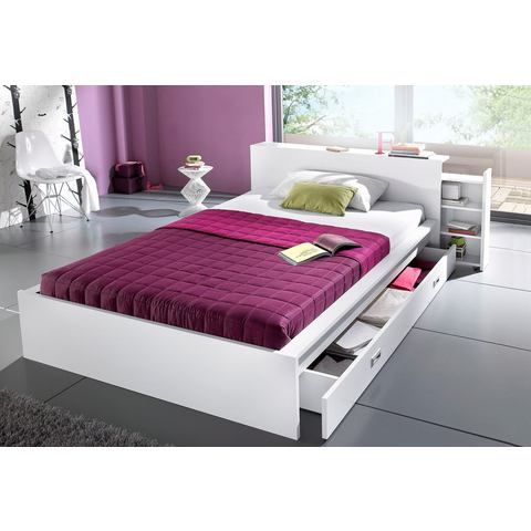 Futonbed in 3 verschillende uitvoeringen Made in Germany wit 867345