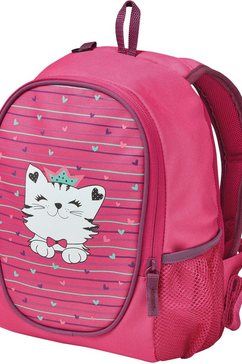 herlitz kinderrugzak »rookie princess cat« roze