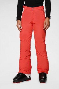 brunotti skibroek »sahara« rood