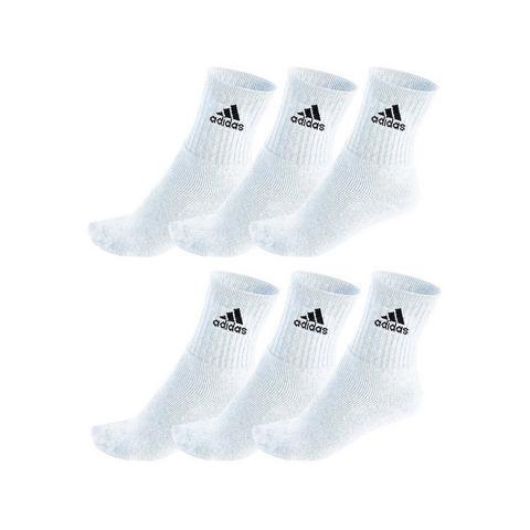 adidas Performance 6 PACK Sportsokken weiß