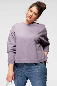 levi's plus sweatshirt graphic diana crew paars