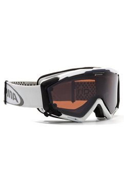 alpina sports »panoma magnetic« skibril wit