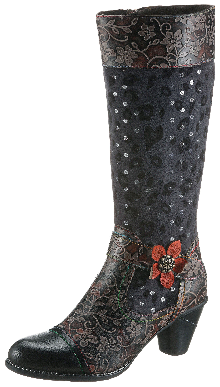 Op zoek naar een LAURA VITA laarzen Alcizeeo met opvallende bloem? Koop online bij OTTO