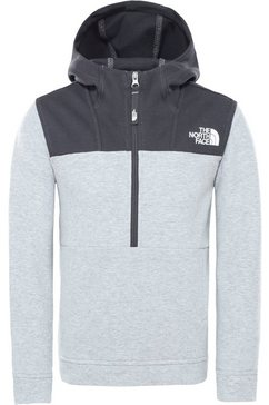 the north face sweatshirt grijs