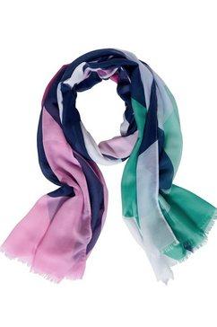 street one modieuze sjaal blauw