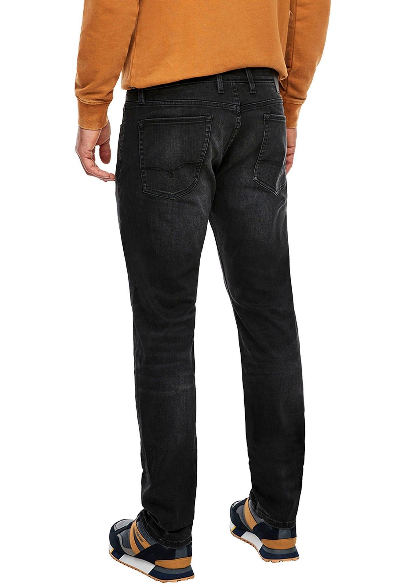 s.Oliver slim fit jeans KEITH met authentieke wassing veilig op otto.nl kopen