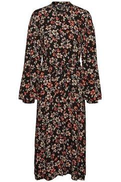 vero moda midi-jurk zwart