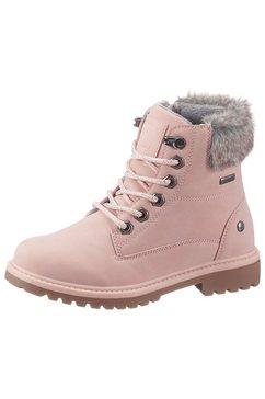 lico hoge veterschoenen »anouk« roze