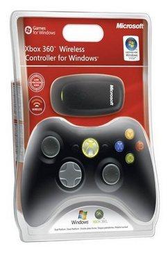 Microsoft Xbox 360 Draadloze controller zwart
