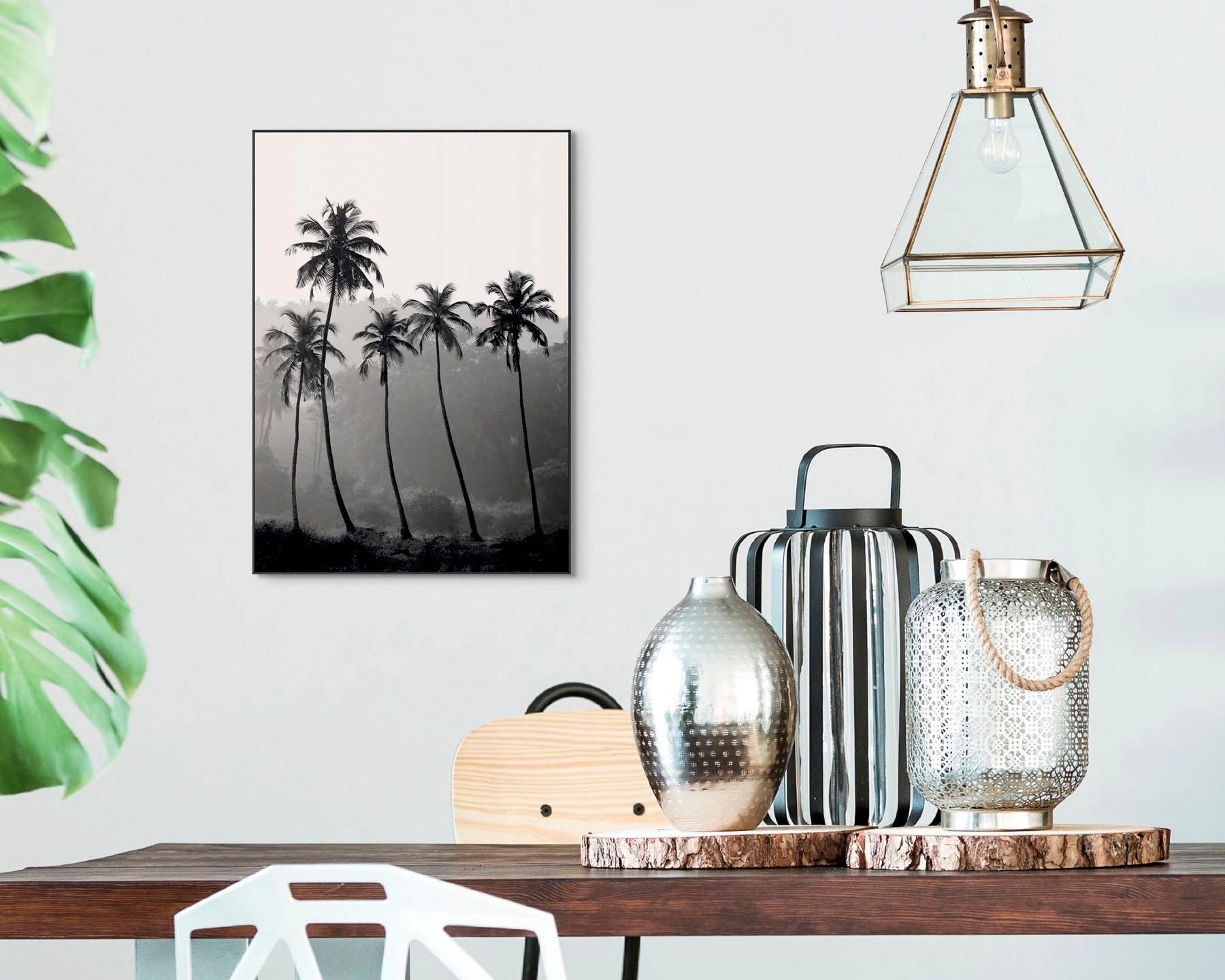 Reinders! artprint Slim Frame Black 50x70 High Palms - verschillende betaalmethodes