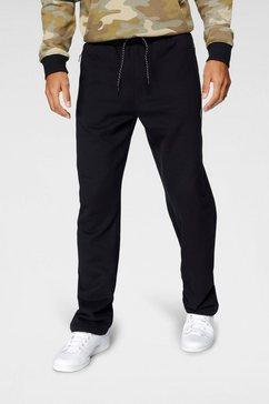 bruno banani joggingbroek comfort cut zwart