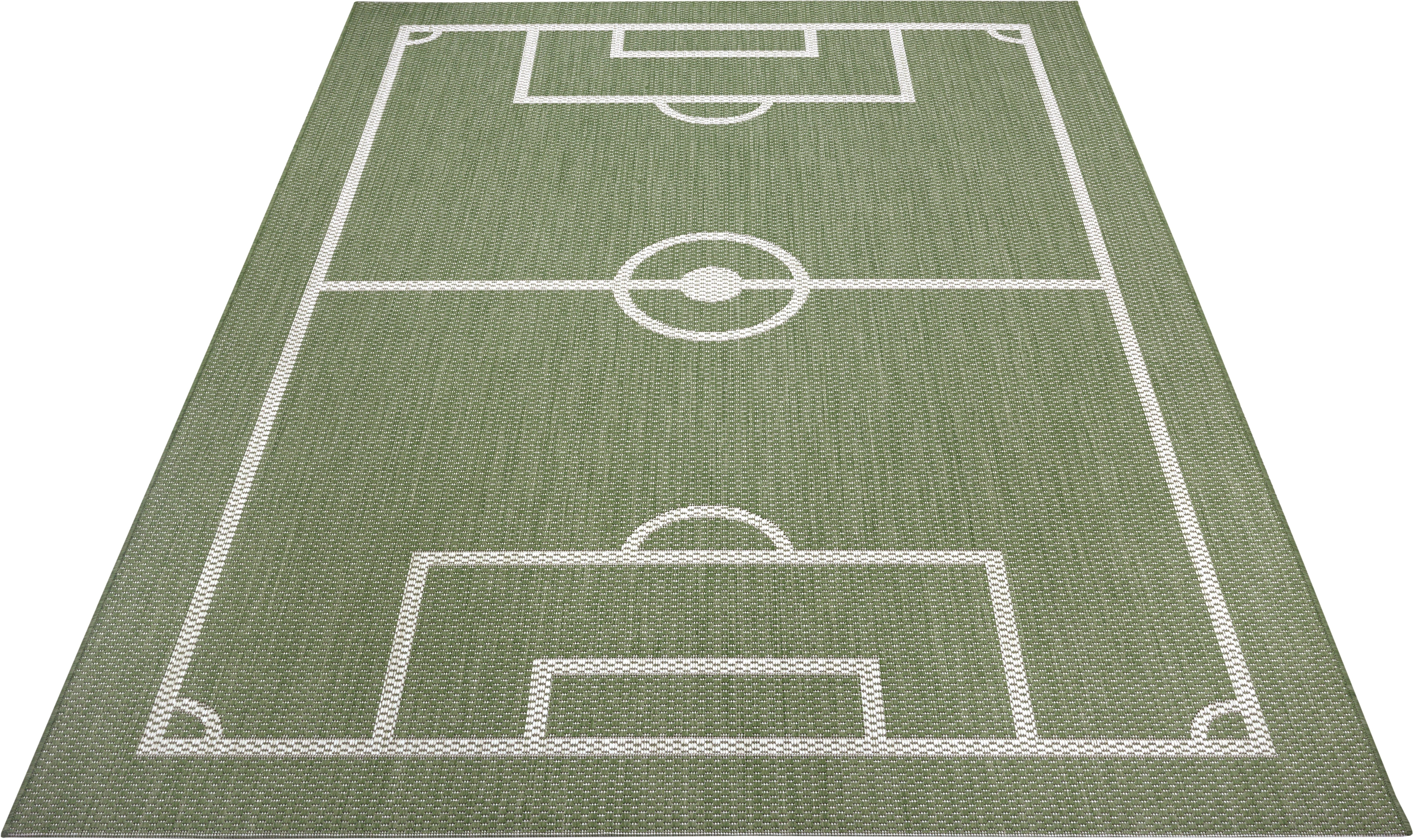 Op zoek naar een Lüttenhütt vloerkleed voor de kinderkamer »Fußballfeld«? Koop online bij OTTO