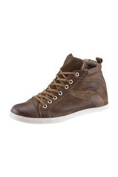 spieth  wensky sneakers met twee veterbandjes bruin
