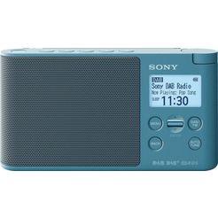 sony digitale radio (dab+) xdr-s41d tragbares blauw