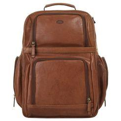 piké laptop-rugzak bruin