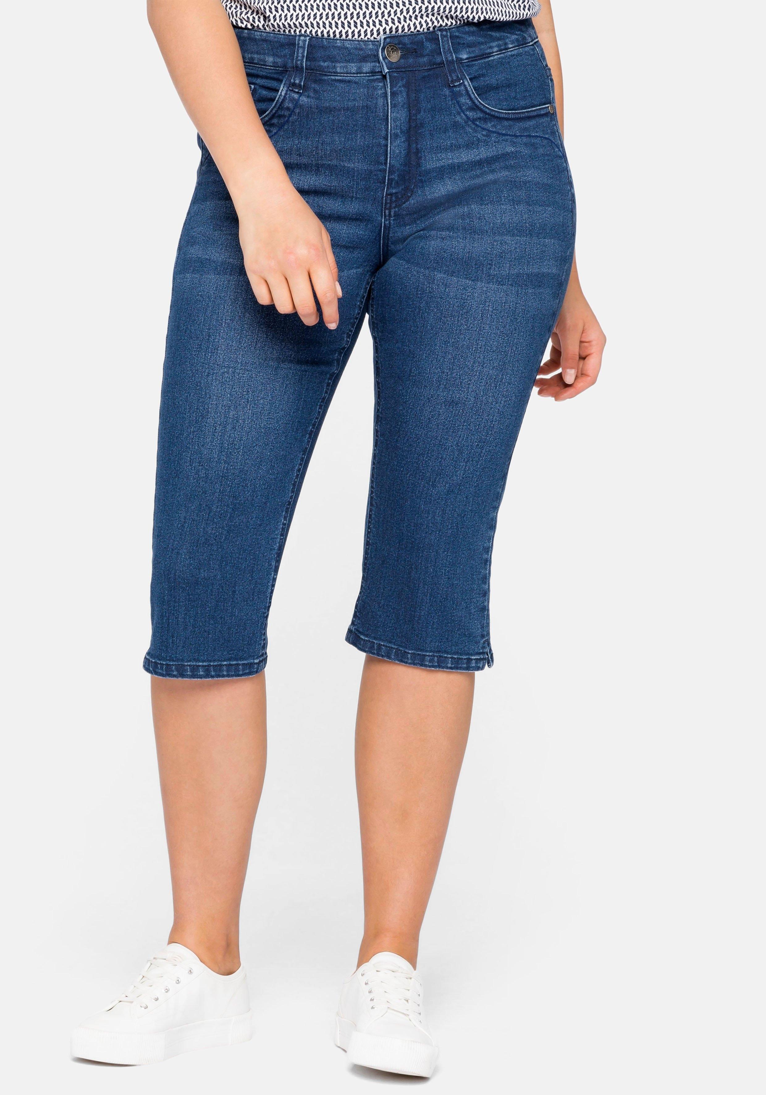 Sheego capri jeans nu online kopen bij OTTO