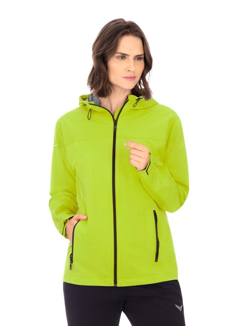 Trigema Outdoor jas met capuchon »met reflecterende Trigema-vleugels« nu online bestellen