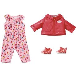 baby born »city scooter« poppenkleding rood