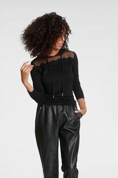 melrose capuchonshirt zwart