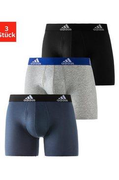 adidas performance boxershort (3 stuks) blauw