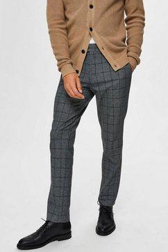 selected homme chino »slim-carlo cotflex pants« grijs